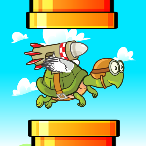 Jetpack Flappy Turtle