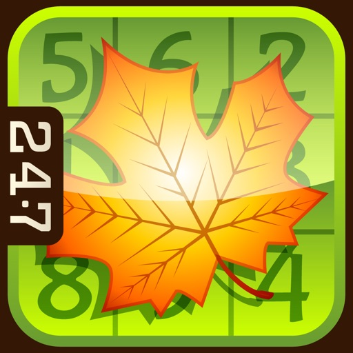 Fall Sudoku by 24/7 Games LLC