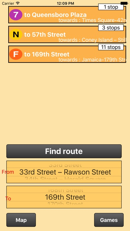 New York City Subway - map and route finder