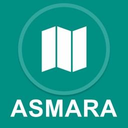 Asmara, Eritrea : Offline GPS Navigation