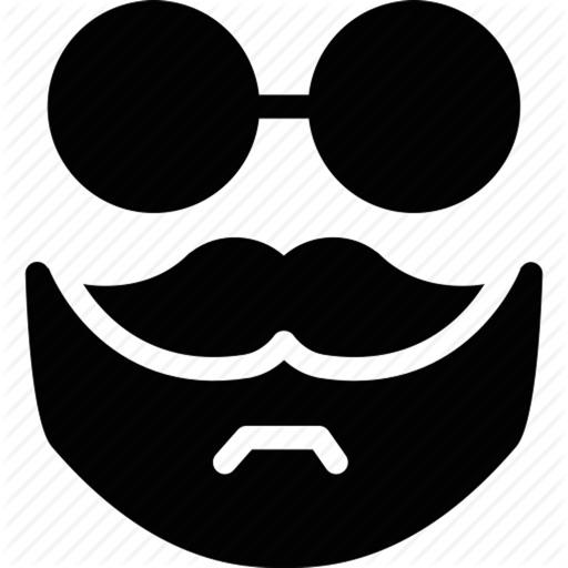 Mustache & Beard Me Editor iOS App