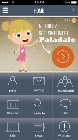 Paladalo Freundschaften Screenshot