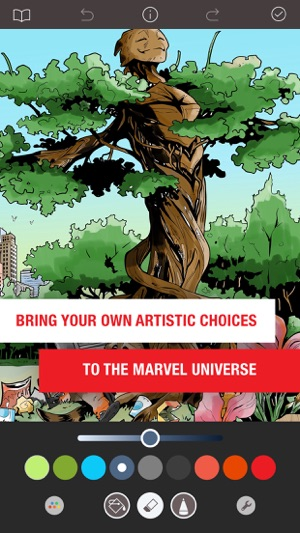 Marvel Color Your Own On The App Store
