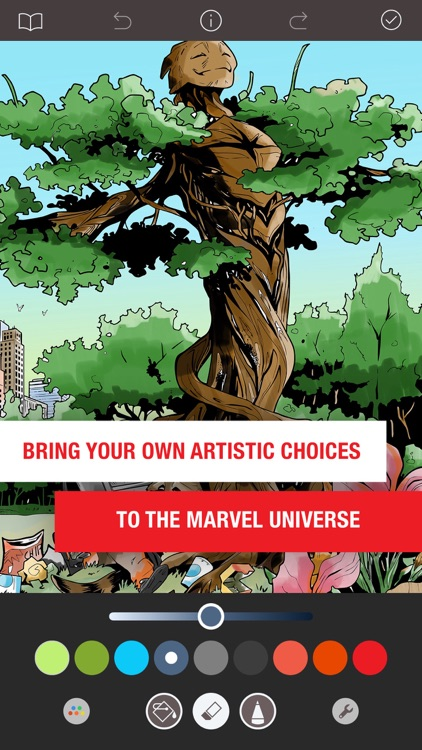 Marvel: Color Your Own screenshot-4