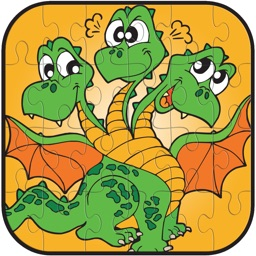 Dragon Jigsaw Puzzle Game Free For Kids and Adults