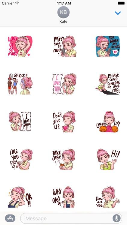 Valentine Of Single Women Stickers