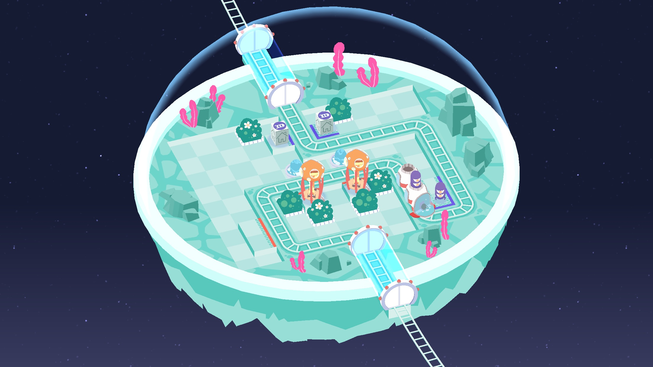 Screenshot do app Cosmic Express