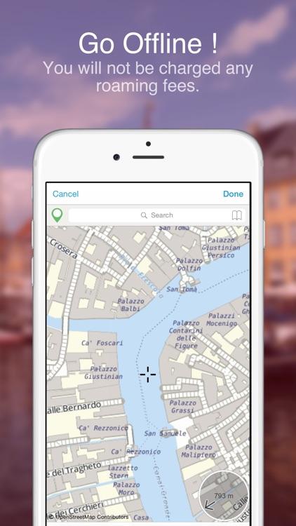 Venice on Foot : Offline Map screenshot-3