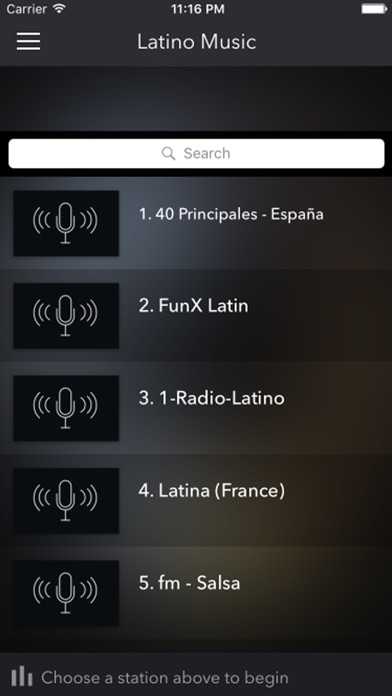 Latino Music - Top Radio Stations FM AM screenshot one