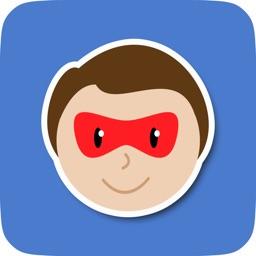 SuperKids Sticker Pack for Messaging