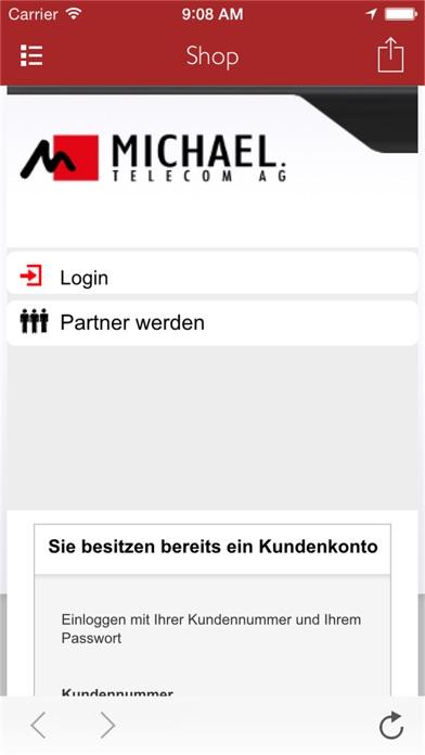 MICHAELTELECOM AppScreenshot von 3