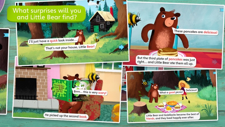 Goldilocks and Little Bear by Nosy Crow screenshot-4