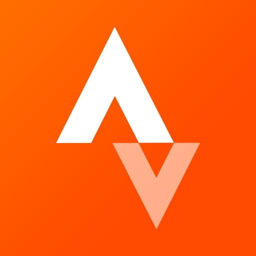 Strava Running and Cycling GPS app logo