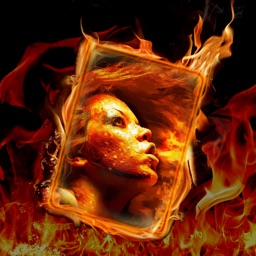 Burning Photo Frame