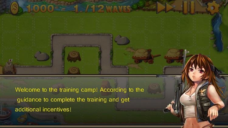 World warfare TD - Tank Defense Fields screenshot-3