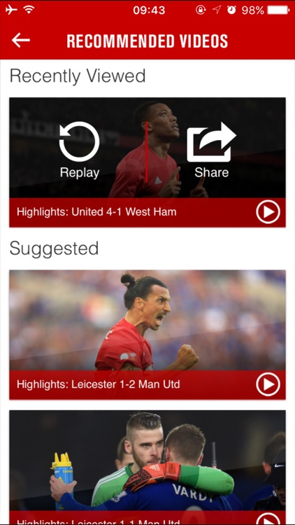 Manchester United screenshot-0
