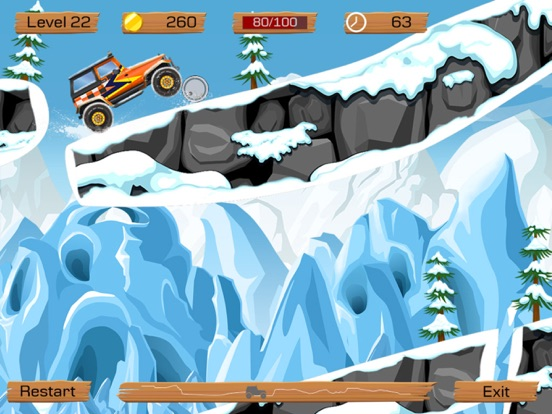 Snow Off Road Free screenshot 3