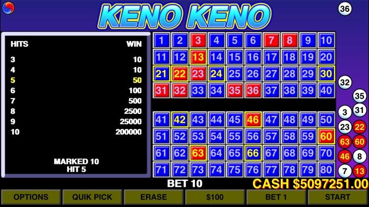 Keno Keno - Las Vegas Casino