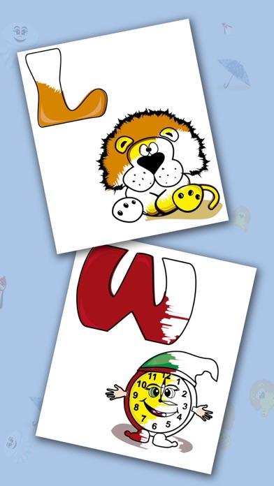 Alphabet Lernspiele für Kinder - Farbe Buchstaben - iOS App ...