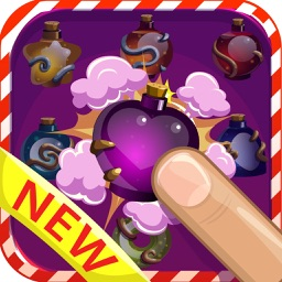 Potions magic - Magical of color gems match 3 game