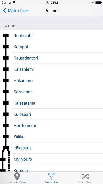 Helsinki Metro & Subway screenshot-3