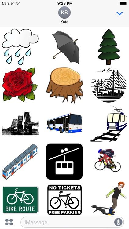 Portland Oregon Sticker Pack