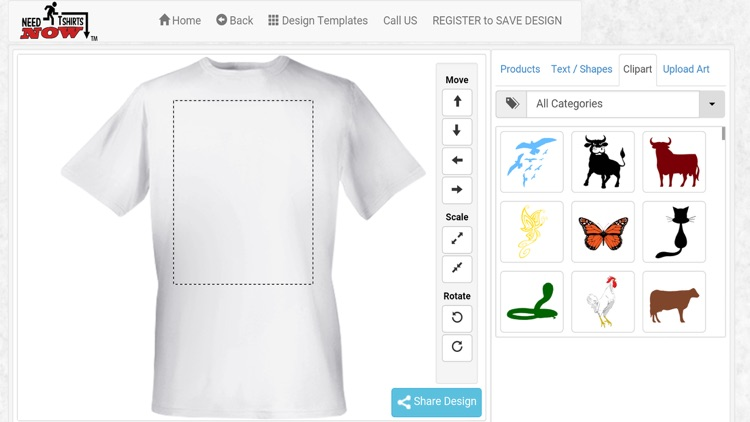 Design a T-shirt and Print