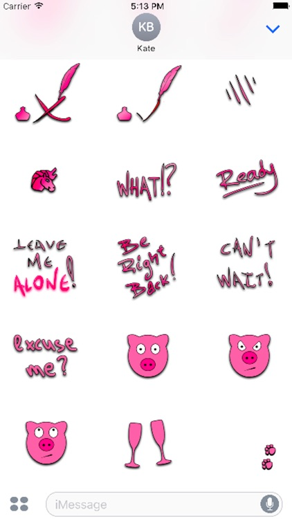 PinkIt Sticker Pack