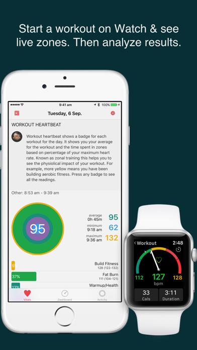 HeartWatch. Heart & Activity app image