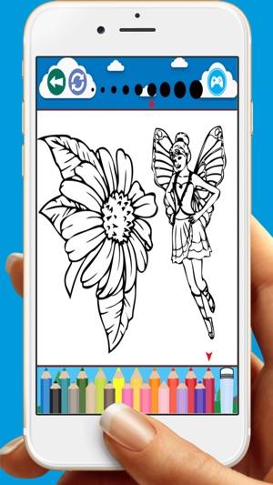 Boyama Kitabi Oyunlari Icin Kelebekler Cicegi App Store Da