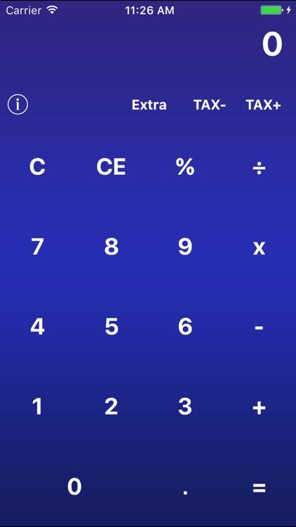 Simple-Extra Calculator screenshot-3