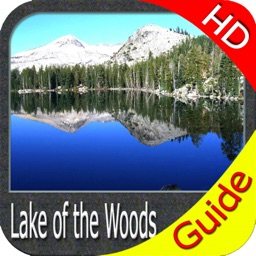 Boating Lake of the Woods HD GPS map Fishing chart