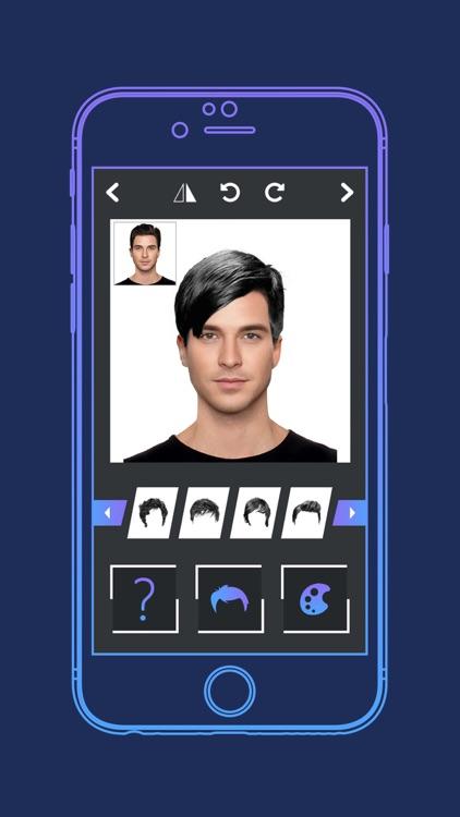 Mens Hairstyle Changer screenshot-3
