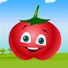 Learning Vegetables | with voice and game for kids icon
