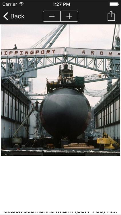 Submarines of the US Navy screenshot-3
