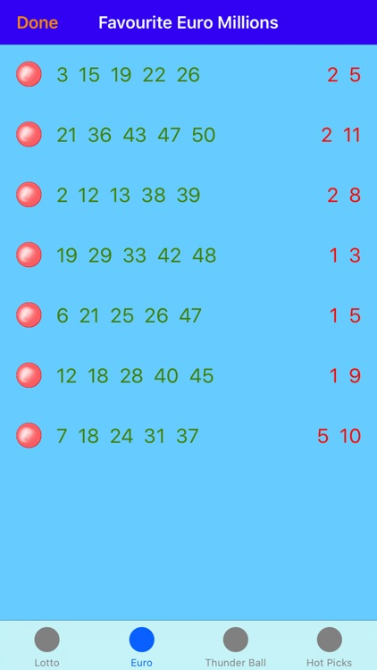 lotto mate - UK Lotto number generator screenshot-4