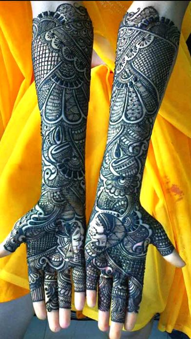 点击获取Mehndi Designs For Girls
