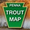 Put a complete map of Pennsylvania's stocked trout streams and lakes in the palm of your hand with this GPS enabled trout map that follows your travels, provides turn-by-turn driving directions and even navigates the backcountry right to the best trout fishing in Pennsylvania