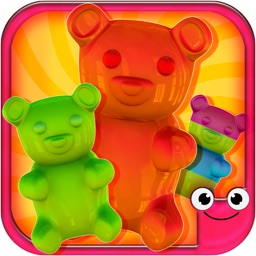 Gummy Bear Maker Candy Design Game-iMake Gummies