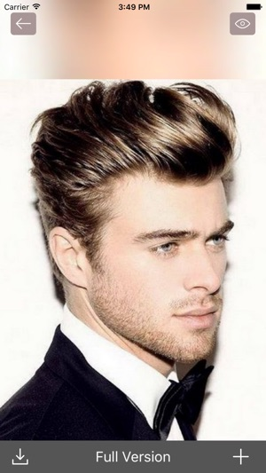 Mens Hairstyle Ideas Trendy Haircut Cool Beard On The App Store