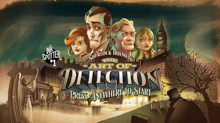 Sherlock Holmes: Art Of Detection (Ink Spotters) screenshot-0