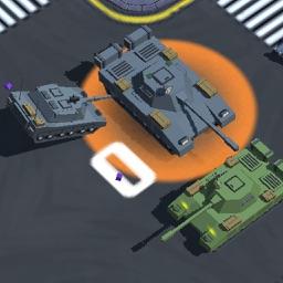 Rush War Traffic - Crossy Car City