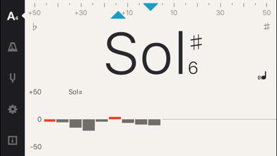 Screenshot #1 pour Cadenza: Accordeur + Métronome
