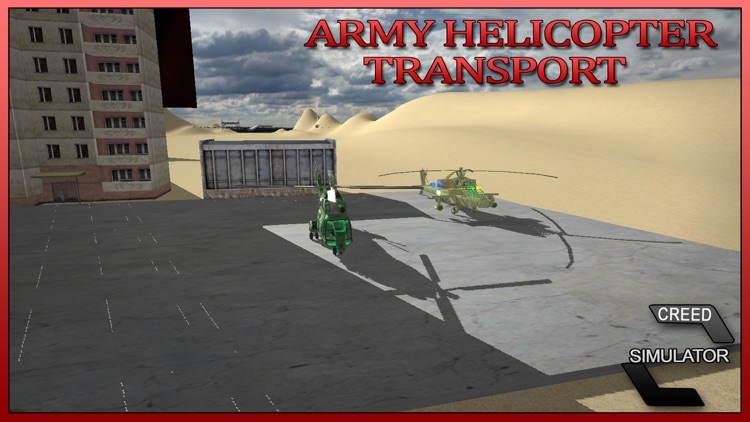 Army Helicopter Transport - Real Truck Simulator screenshot-4