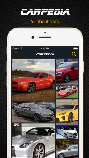 All About Cars >> Carpedia All About Cars App Store Da