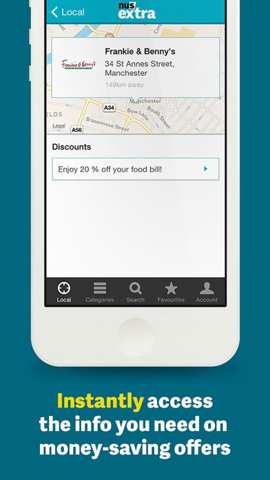 NUS extra – Discount Companion screenshot two