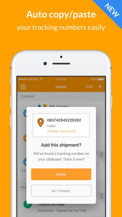 AfterShip Package Tracker screenshot-4
