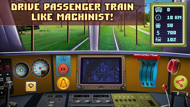 Passenger Train Simulator screenshot-4