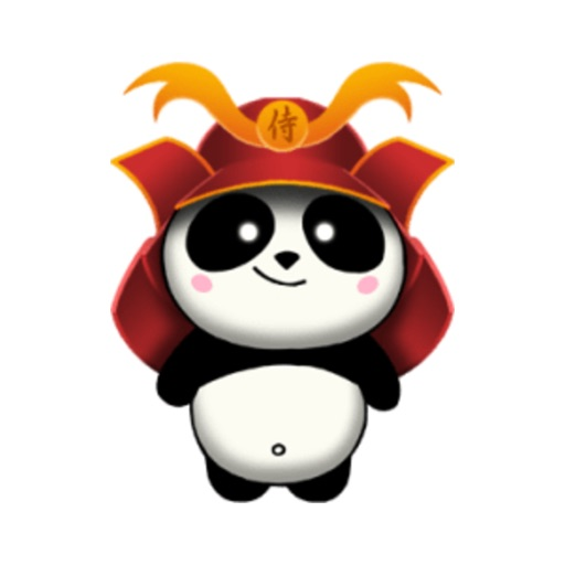 SAMURAI PANDA 2 (Animated) stickers by CandyA$$