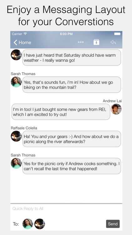 Cannonball Email screenshot-3